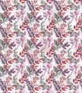 Harvest Cotton Fabric 44\u0022-Watercolor Autumn Vines