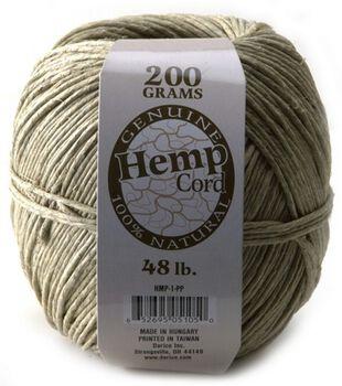 Darice 48# Hemp Cord-400ft/100% Natural