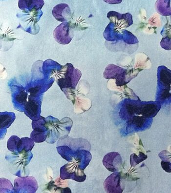 Spring Sheen Stretch Charmeuse Fabric -Orchid Purple