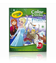 Crayola Color N Sticker-Frozen, , hi-res