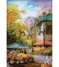RIOLIS Combopu Cama 10.25\u0027\u0027x15\u0027\u0027 Counted Cross Stitch Kit-Flower Street