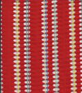 Famous Maker Lurex Stripe Jacquard Knit Red