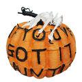 Maker\u0027s Halloween Large Spooky Fashion Pumpkin-Haunt It