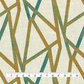 Home Decor 8\u0022x8\u0022 Fabric Swatch-Genevieve Gorder Intersections Peacock