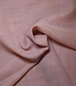 Casa Gardenia Chiffon Fabric -Peachskin