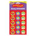 School Time-Apple Stinky Stickers 12 Packs