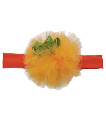 Maker's Halloween Infant Headband-Pumpkin