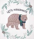 Fleece No Sew Throw 72\u0022-Let\u0027s Hibernate