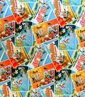 Disney Frozen Cotton Fabric -Postcards