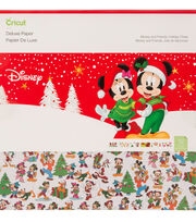 Cricut Deluxe Paper-Disney Mickey & Friends Holiday Cheer, , hi-res