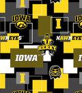 University of Iowa Hawkeyes Herky Cotton Fabric 43\u0027\u0027-Modern Block