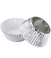 Wilton Standard Baking Cups-Silver Foil, , hi-res