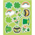 Carson Dellosa St. Patrick\u0027s Day Shape Stickers 12 Packs