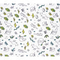 Super Snuggle Flannel Fabric-Desert Animals Sketched