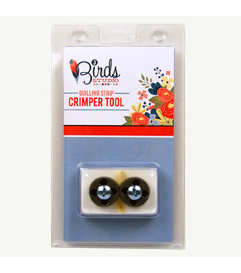 Three Birds-Quilled Treasures-Crimper Tool For Quilling Strips