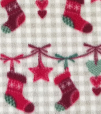 "Anti-Pill Fleece Fabric 59""-Stockings"