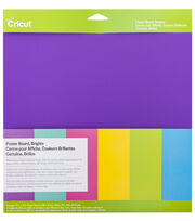 Cricut 12''x12'' Poster Board Sampler-Brights, , hi-res