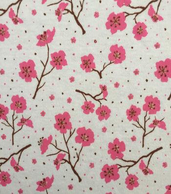 Doodles Juvenile Apparel Fabric 57''-Cherry Blossom