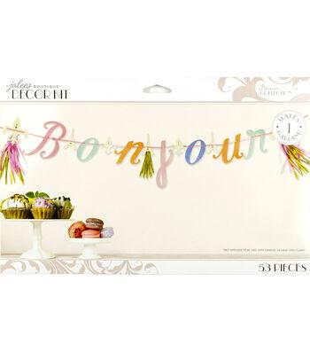 Jolee's Boutique Parisian Bonjour Garland Kit