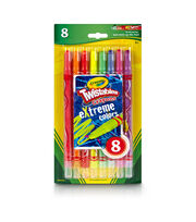 Crayola Twistables Extreme Crayons 8/Pkg-Bright Neon, , hi-res