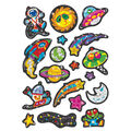 Sparkly Space Stuff Sparkle Stickers-Large 6 Packs