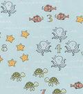Nursery Cotton Fabric 43\u0022-Go Fish