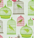 Home Decor 8\u0022x8\u0022 Fabric Swatch-Waverly Flight of Fancy/Key Lime