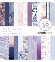 Kaisercraft Misty Mountains 48-sheets 12''x12'' Paper Pad, , hi-res