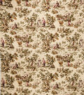 Home Decor 8\u0022x8\u0022 Fabric Swatch-Jaclyn Smith Cleo Berry