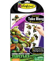Teenage Mutant Ninja Turtles Colorforms Take Along Re-stickable Playset, , hi-res