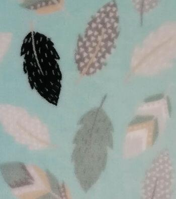 """Sew Lush Fabric 58""""-Yukon Feathers"""