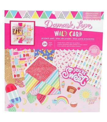 Damask Love Project Pad-Wild Card