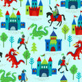 Novelty Cotton Fabric-Medieval Magic
