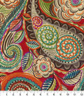 Waverly Upholstery Décor Fabric-Mayan Market Caliente