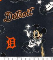 Detroit Tigers Fleece Fabric-Mickey, , hi-res