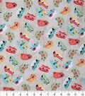 Novelty Cotton Fabric 43\u0027\u0027-Tossed Camping Trailers