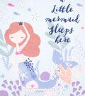 No Sew Fleece Throw 48\u0022-Sleeping Mermaid