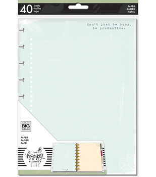 The Happy Planner Girl Classic Paper-Homebody Colored