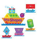 TREND enterprises, Inc. Ship Shapes & Colors Bulletin Board Set, 2 Sets