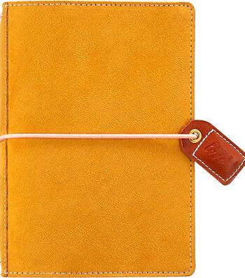 Webster's Pages Color Crush Pocket Traveler's Planner-Mustard Suede