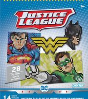Perler Justice League Pattern Pad, , hi-res