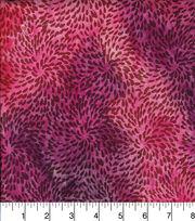 "Legacy Studio Indian Batiks Cotton Fabric 44""-Circle Burst Pink, , hi-res"