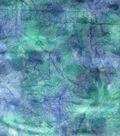 Wide Batik Cotton Fabric 108\u0022-Turquoise & Blue Blend