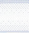 Gertie Collection Laser Cut Eyelet Fabric 55\u0027\u0027-Navy & White