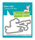 Lawn Fawn Lawn Cuts Custom Craft Die -Winter Bunny