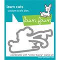 Lawn Fawn Lawn Cuts Custom Craft Die -Winter Bunny