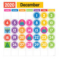 Dowling Magnets Giant Magnetic Calendar Set
