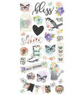 Simple Stories Bliss 29 pk Chipboard Stickers