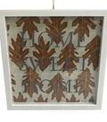 Simply Autumn Shadow Box Wall Decor-Home Sweet Home