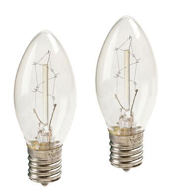 Hudson 43 Edison Style Candle Lamp Bulb 7W 2pk